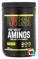 100% Beef Aminos, Universal Nutrition, 200 Tablets