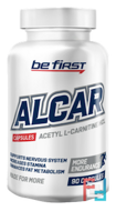 ALCAR (Ацетил L-карнитин) powder, Be First, 600 mg, 90 capsules