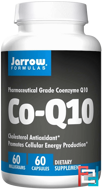 Co-Q10, Jarrow Formulas, 60 mg, 60 Capsules