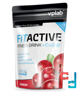 FitActive + Coenzyme Q10, VP Laboratory, 500 g