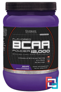 BCAA 12.000 Powder Flavored, Ultimate Nutrition, 228 g