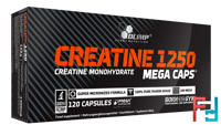 Creatine Mega Caps, Olimp, 120 capsules