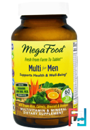 Multi for Men, MegaFood, 60 Tablets