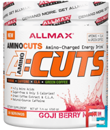AMINOCUTS (ACUTS), Weight-Loss BCAA (CLA + Taurine + Green Coffee), Goji Berry Martini, ALLMAX Nutrition, 7.4 oz, 210 g
