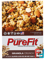 Premium Nutrition Bars, Granola Crunch, Pure Fit Bars, 15 Bars, 2 oz (57 g) Each