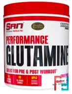 Performance Glutamine, SAN, 300 g