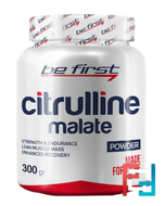 Citrulline malate powder, Be First, 300 g