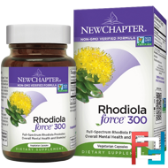 Rhodiola Force 300, New Chapter, 30 Veggie Caps