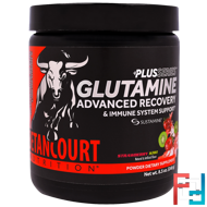 Plus Series Glutamine Advanced Recovery & Immune System Support, Betancourt Nutrition, 240 g