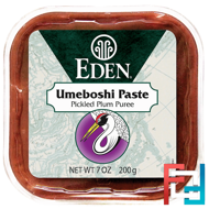 Selected, Umeboshi Paste, Pickled Plum Puree, Eden Foods, 7 oz (200 g)