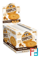 The Complete Cookie, Peanut Butter, Lenny & Larry's, 12 Cookies, 4 oz (113 g) Each