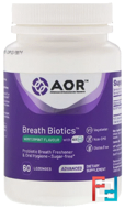 Breath ProBiotic, Advanced Orthomolecular Research AOR, 60 Lozenges