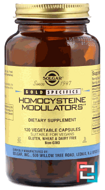 Gold Specifics, Homocysteine Modulators, Solgar, 120 Vegetable Capsules