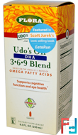 Udo's Choice, Udo's Oil, DHA 3•6•9 Blend, Flora, 8.5 fl oz (250 ml)