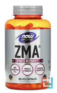 ZMA, Sports Recovery,  Sports, Now Foods, 180 Capsules