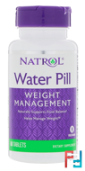 Water Pill, Natrol, 60 Tablets