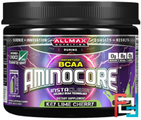 Aminocore, BCAA Max Strength, 8G Branched Chain Amino Acid, Gluten Free, ALLMAX Nutrition, 105 g