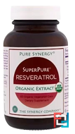 Pure Synergy, Organic Super Pure Resveratrol Organic Extract, The Synergy Company, 60 Organic Veggie Caps