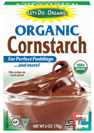 Organic Cornstarch, Edward & Sons, 6 oz (170 g)