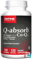 Q-absorb Co-Q10, Jarrow Formulas, 100 mg, 120 Softgels