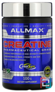100% Pure Micronized German Creatine, ALLMAX Nutrition, 100 g