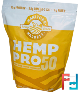 Hemp Pro 50, Plant Based Protein Supplement, Manitoba Harvest, 2 lbs, 908 g