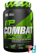 100% Combat Whey Protein, MusclePharm, 907 g