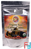Organic Raw Camu Camu Powder, Earth Circle Organics, 3 oz, 85 g
