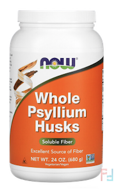 Whole Psyllium Husks, Now Foods, 24 oz (680 g)
