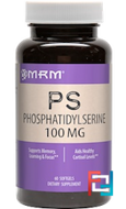 PS, Phosphatidylserine, MRM, 100 mg, 60 Softgels