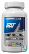 Mens Multi + Test, GAT, 60 Tablets