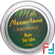 Neem Skin Salve, Neemaura Naturals Inc, 1 oz (30 ml)