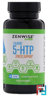 Calming 5-HTP Stress Support, Zenwise Health, 100 mg, 120 Vegetarian Capsules