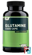 Glutamine Caps, Optimum Nutrition, 1000 mg, 60 Capsules