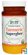 Pure Indian Foods, Grass-Fed Organic, Turmeric Superghee, 7.5 oz (212 g)
