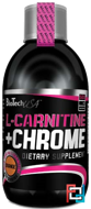 Liquid + L-Carnitine + Chrome, BioTechUSA, 500 ml
