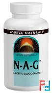 N-A-G, Source Naturals, 500 mg, 120 Tablets