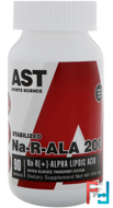 Na-R-ALA 200, AST Sports Science, 200 mg, 90 Capsules