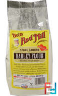Stone Ground, Barley Flour, Bob's Red Mill, 20 oz (567 g)
