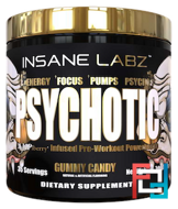 Psychotic GOLD (Психотик), Insane labz, 200 g