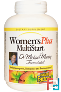 Women's Plus MultiStart, Natural Factors, 180 Tablets