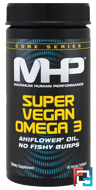 Core Series, Super Vegan Omega 3, Maximum Human Performance, LLC, 90 Veggie Softgels