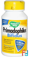 Primadophilus, Bifidus, For Adults, Nature's Way, 90 Veggie Caps