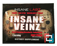 Пробник Insane Veinz, Insane labz, 1 Pack