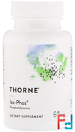 Iso-Phos, Thorne Research, 60 Vegetarian Capsules