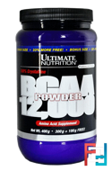 BCAA 12000 Powder, Ultimate Nutrition, Unflavored, 400 g