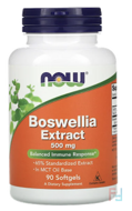 Boswellia Extract, Now Foods, 500 mg, 90 Softgels