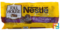 Milk Chocolate Morsels, Nestle Toll House, 11.5 oz (326 g)