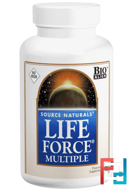 Life Force Multiple, No Iron, Source Naturals, 180 Tablets