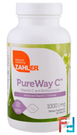PureWay C, Advanced Vitamin C, 1,000 mg, Zahler, 90 Tablets